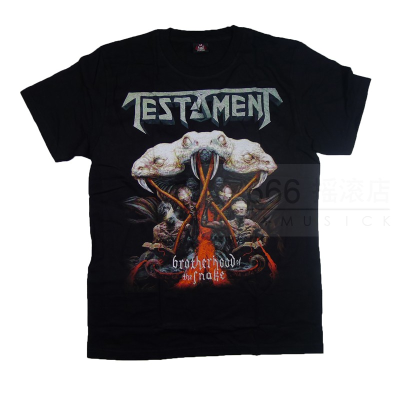 TESTAMENT - Brotherhood Of The Snake (TS-M) TTH2004