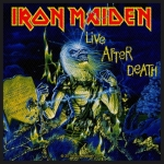 IRON MAIDEN 官方原版 Live After Death(Woven Patch)