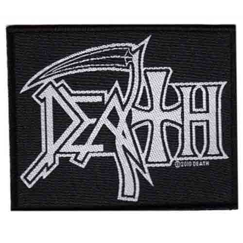 DEATH 官方进口原版 Logo (Woven Patch)