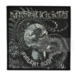 MESHUGGAH 官方进口原版 The Violent Sleep (Woven Patch)