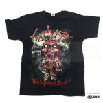 SLAYER 官方原版 World Painted Blood Skull (TS-M)