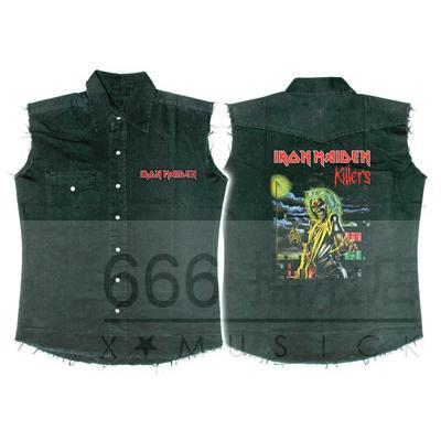 IRON MAIDEN 官方原版工装 Killers (WS-L)