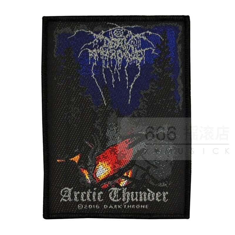 DARKTHRONE 官方原版 Arctic Thunder (Woven Patch)