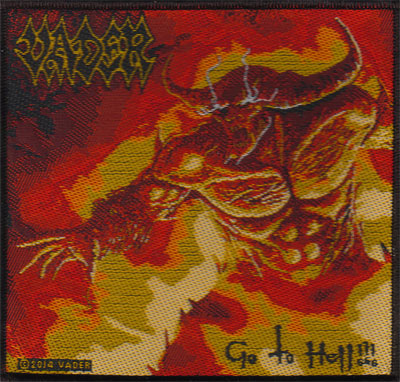 VADER 官方进口原版 Go To Hell (Woven Patch)