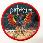BLITZKRIEG - A Time of Changes (Woven Patch)