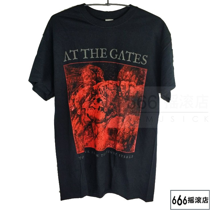 AT THE GATES 官方原版 To Drink from the Night Itself  (TS-S)