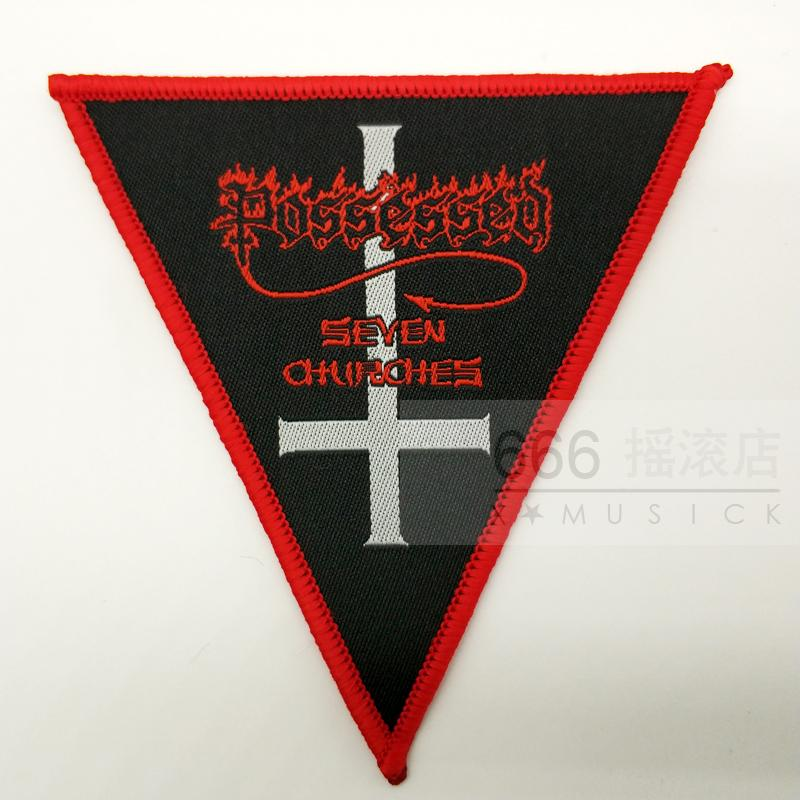 POSSESSED 官方原版 Seven Churches (Woven Patch)