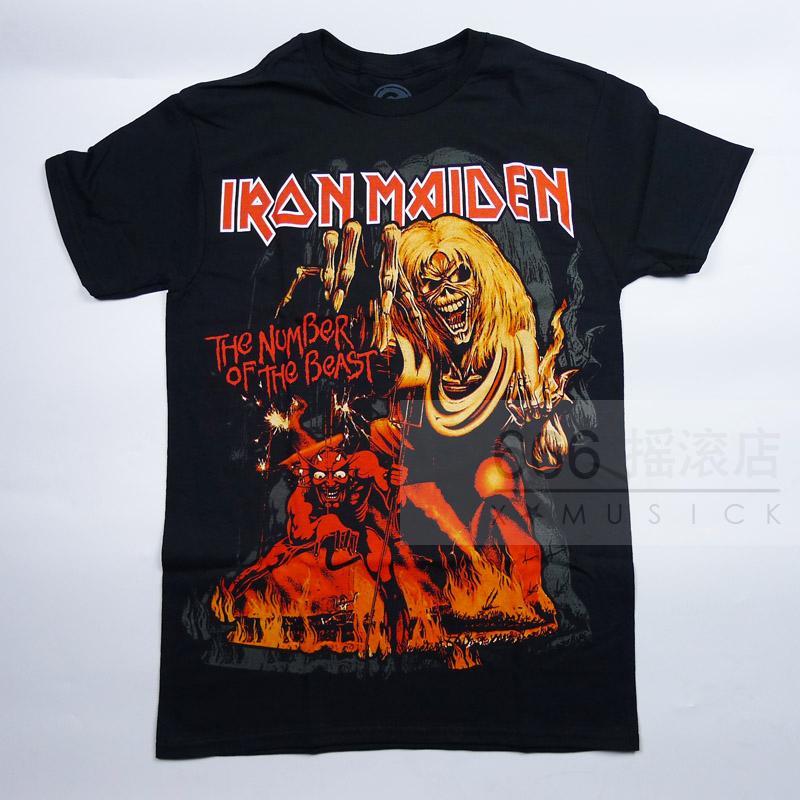 IRON MAIDEN 官方原版 Number of the Beast新 (TS-XXL)