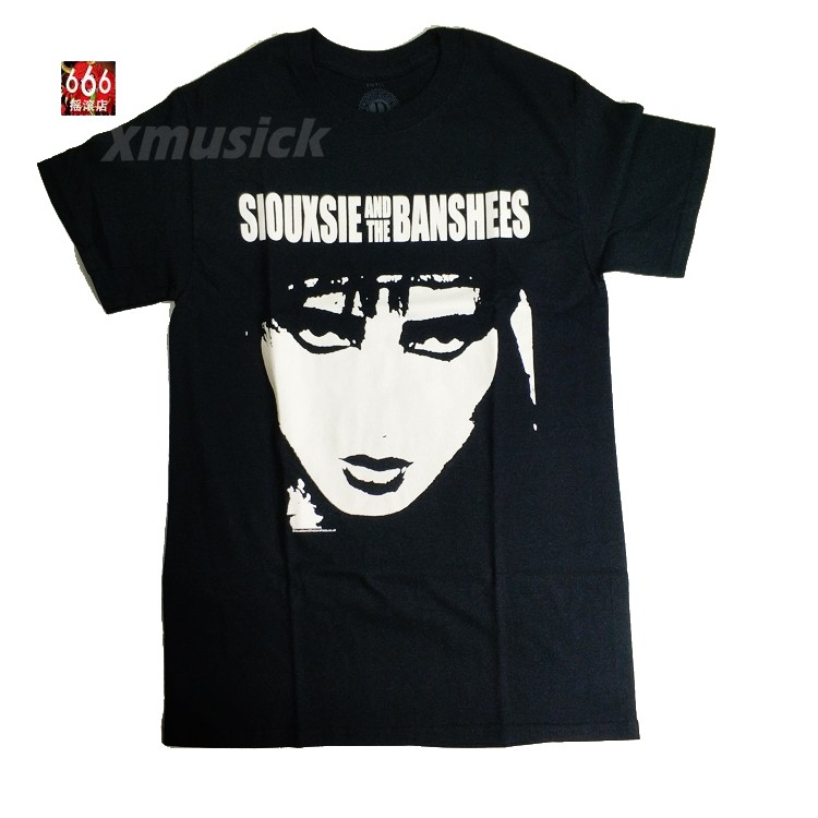SIOUXSIE AND THE BANSHEES 官方进口原版 Face (TS-L)
