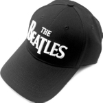 BEATLES,THE 官方原版刺绣 白Logo 棒球帽