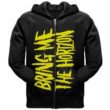 BRING ME THE HORIZON 官方原版开身帽衫 Logo (Hoodie - M)
