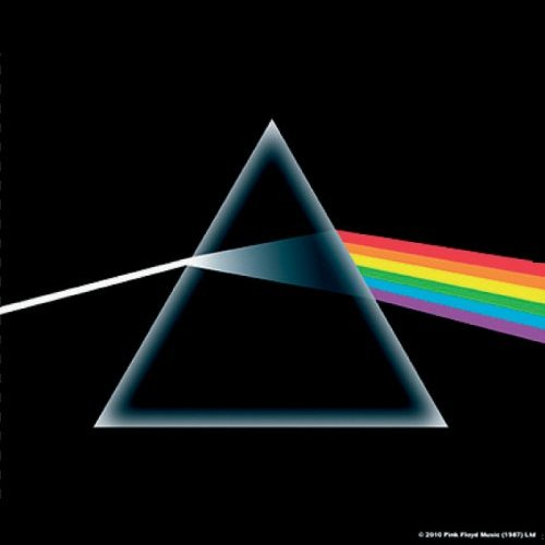 PINK FLOYD 官方原版 Dark Side of The Moon 一套五枚