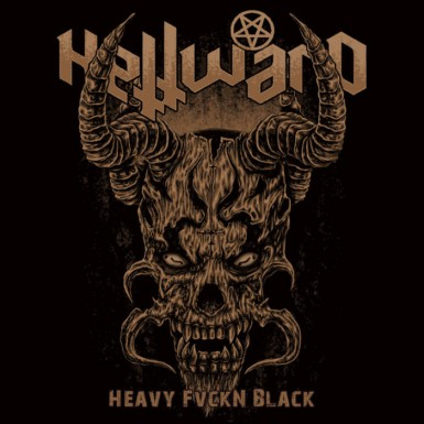 HELLWARD (向地狱) - Heavy Fvckn Black (LP)