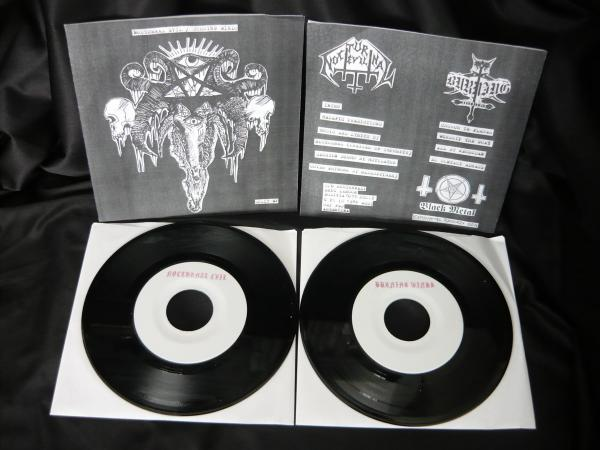 "NOCTURNAL EVIL / BURNING WINDS - Split (7""EP)"