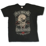 FIVE FINGER DEATH PUNCH 官方原版 Las Vegas (TS-M)