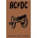 AC/DC 官方正版出品 For Those About to Rock 挂旗 海报(加厚)