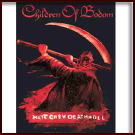 CHILDREN OF BODOM 官方正版出品 Hate Crew Deathroll 丝质挂旗海报