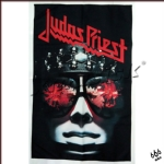 JUDAS PRIEST 官方原版 Hell Bent For Leather 挂旗 海报(加厚)