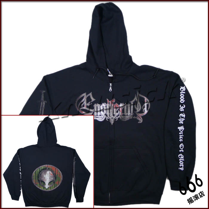 ENSIFERUM 官方原版开身帽衫 Blood Is The Price (Hoodie-XL)