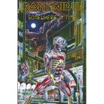 IRON MAIDEN 官方正版出品 Somewhere In Time 挂旗 海报(加厚)