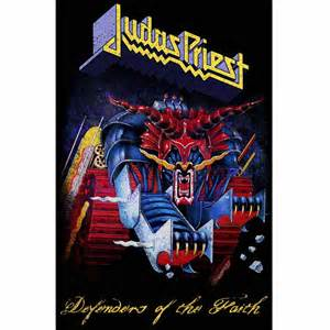 JUDAS PRIEST 官方正版出品 Defenders of The Faith 挂旗 海报(加厚)