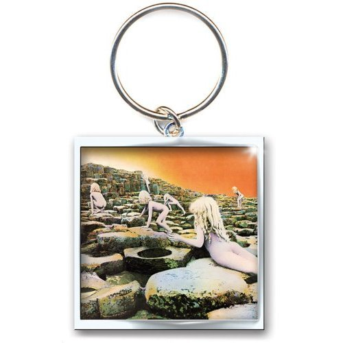 LED ZEPPELIN 乐队官方纪念品 进口原版钥匙扣 Houses of the Holy(Keyring)