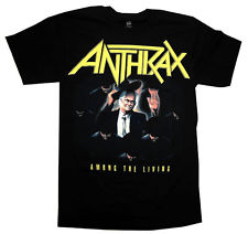 ANTHRAX 官方原版 Among the Living 彩色 (TS-L)