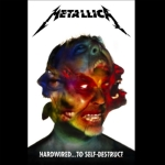 METALLICA 官方正版出品 Hardwire To Self Destruct 挂旗 海报(加厚)