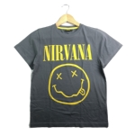 青少年 NIRVANA 官方原版 笑脸 灰色 (Youth TS) 12岁