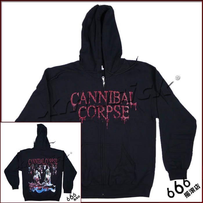 CANNIBAL CORPSE 官方出品帽衫 Butchered At Birth (Hoodie-M)