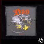 DIO 官方原版 Holy Diver 暗圈 (Woven Patch)