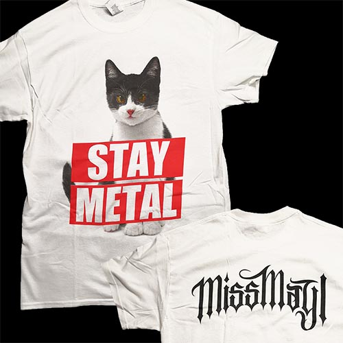 MISS MAY I 官方原版 Metal Cat (TS-XXL)