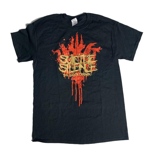 SUICIDE SILENCE 官方原版 鎏金Crown (TS-M)