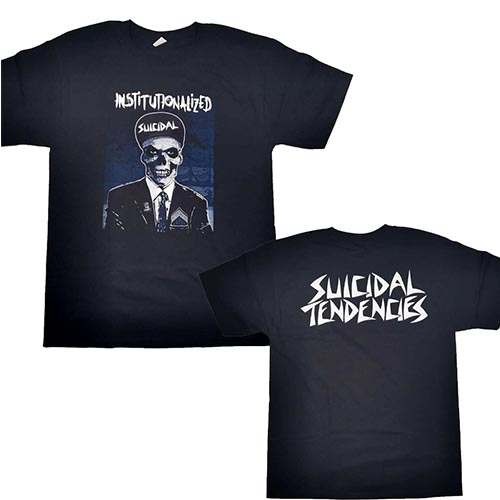 SUICIDAL TENDENCIES 官方原版 西服控 (TS-XL)