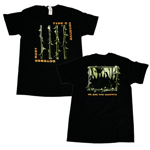 TYPE O NEGATIVE 官方原版 October Rust (TS-M)