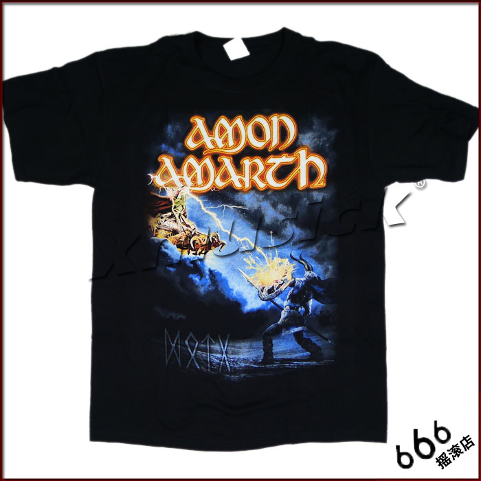 AMON AMARTH 官方原版 - Deceiver of The Gods(TS-S)