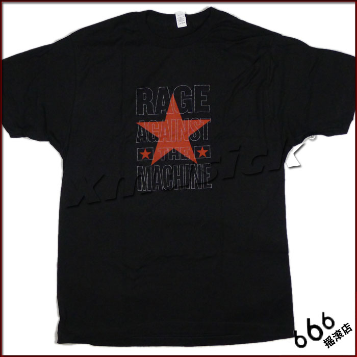 RAGE AGAINST THE MACHINE 官方原版 五角星Logo (TS-S)