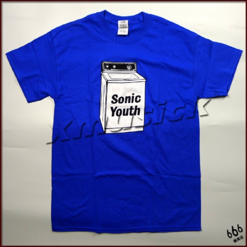 SONIC YOUTH 官方原版 Washing Machine (TS-L)蓝色