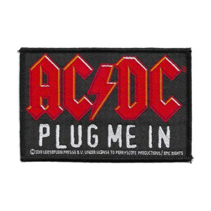AC/DC 官方原版 Plug Me In (Woven Patch)