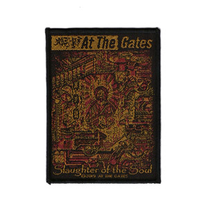 AT THE GATES 官方原版 Slaughter of the Soul (Woven Patch)