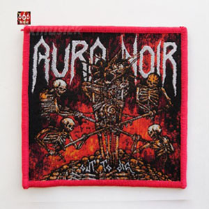 AURA NOIR 官方原版 Out To Die (Woven Patch)