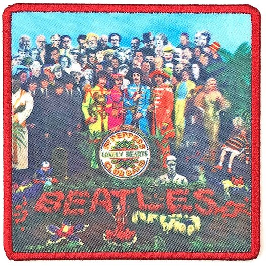 BEATLES, THE 官方原版 Sgt Peppers (Woven Patch)