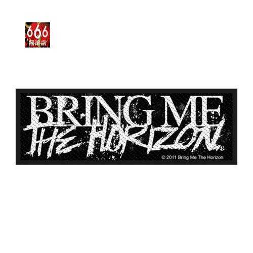 BRING ME THE HORIZON 官方纪念布标 Logo (Woven Patch)