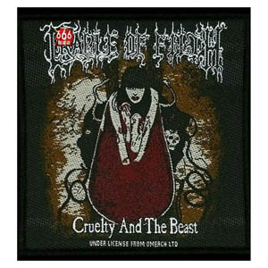 CRADLE OF FILTH 官方原版 Cruelty and The Beast (Woven Patch)