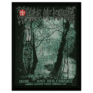 CRADLE OF FILTH 官方原版 Dusk and Her Embrace (Woven Patch)