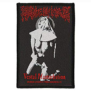 CRADLE OF FILTH 官方原版 Vestal Masturbation (Woven Patch)