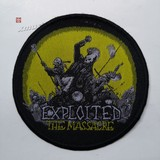 EXPLOITED, THE 官方原版 The Massacre (Woven Patch)