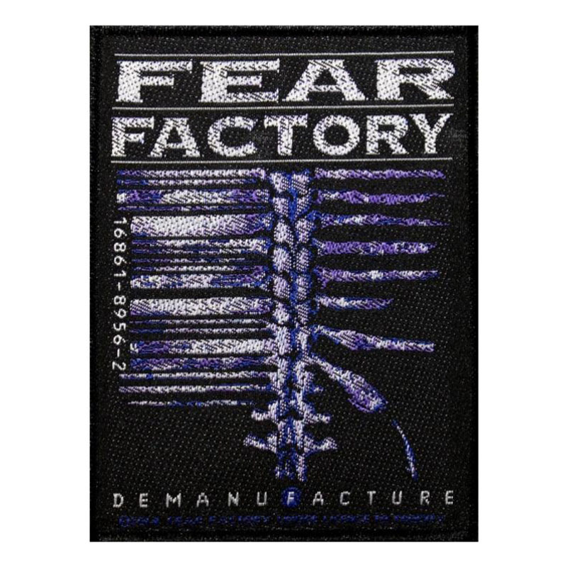 FEAR FACTORY 官方原版 Demanufacture (Woven Patch)