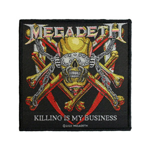 MEGADETH 官方原版 Killing Is My Business (Woven Patch)