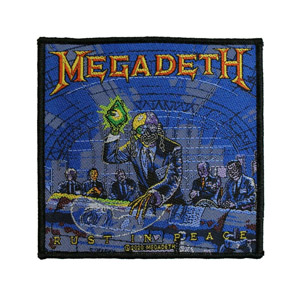 MEGADETH 官方原版 Rust In Peace (Woven Patch)